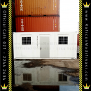 Jual Office Container Standard 20GP Reefer Portacamp Harga Beli Portacamp Port a camp or Modifikasi Kontainer PT Raficon Sarijaya Sales Habib M - 20HC or 20Feet 20Ft - Basic Reefer Container 2nd 80% CW - 1 Pintu 2 Jende AC 1PK 1Unit